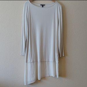 Eileen Fisher silk tunic